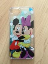 Disney Mickey & Minnie Mouse Liquid Glitter Quicksand Case For iPhone 7 Plus - $13.99