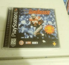 NCAA FOOTBALL GAMEBREAKER GAME BREAKER 1996 PLAYSTATION PS1 VERY NEW! - $19.99