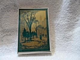 Hallmark Christmas box of 10 Single fold notes and 10 white envelops - $7.25