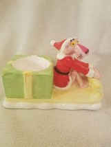 Pink Panther 1981 Santa On Sled Candle Holder exclusive collection  - $49.49