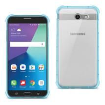 Reiko Samsung Galaxy J7 V (2017) Clear Bumper Case With Air Cushion Prot... - $8.01