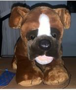"Build A Bear Workshop 15"" Dog Stuffed Animal Used - $29.69"