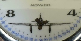 Rare military Pilot's Movado Chronometer pocket watch.AUTOMATON PROPELLE... - $800.00