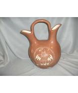 Vintage Ceramic Wedding Vase Thunderbird Lizard Pottery Native American ... - $74.25