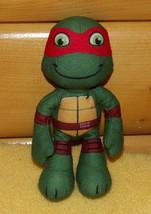 """Teenage Mutant Ninja Turtles Plush 8"""" RAPHAEL Take-Me-Along PlayMate - $5.69"""