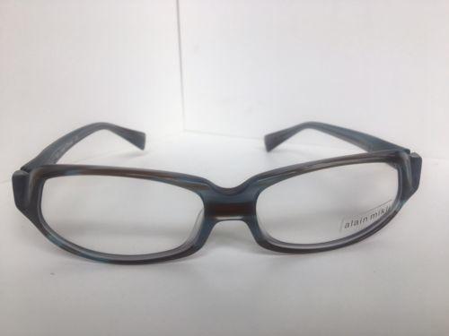c213efecefb New ALAIN MIKLI AL 0944 AL0944 0001 55mm Gray Havana Women s Eyeglasses  Frame -  339.99