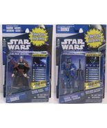 Star Wars Clone Wars Count Dooku CW06 Mandalorian Warrior CW29 2 Value Pack - $18.90