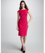 Diane von Furstenberg Gabi Knit Suiting Dress Raspberry size 6 - $149.99