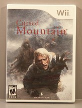 Cursed Mountain (Wii, 2009) *BRAND NEW* Y-Fold Sealed Horror Rated M for... - $79.95