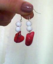Sunset Stone Earrings - $5.15
