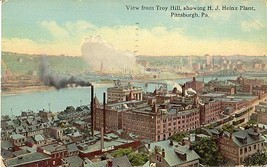 The Heinze 57 Varieties Plant Pittsburg Pennsylvania 1917 Post Card - $6.00