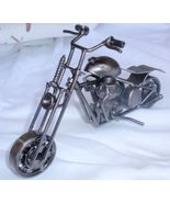Decorative metal motorcycle   - $75.00