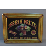 Olive Can Company Fresh Fruit Bloom Hill Farm Tin Designed by Silver Crane - $7.00