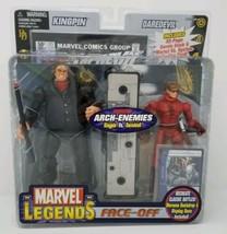 Marvel Legends Face-Off Arch-Enemies Daredevil Vs. Kingpin Toy Biz Nib Comic - $64.88