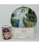 The Danbury Mint Shirley Temple Collector Plate & Mug Bright Eyes w/COA - $27.23