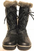 Sorel Women's Tofino II Waterproof Winter Snow Boots in Black Size 6.5 - $77.21