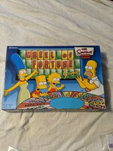 Wheel Of Fortune Game The Simpsons Edition Pressman 2004 Complete Game - $24.95