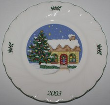 Nikko Happy Holidays 2003 Christmas Collector Plate I'll be Home with Box - $19.75