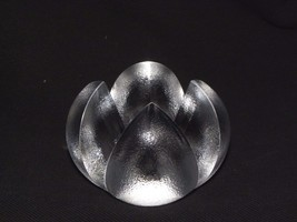 Rosenthal 4 Way Split Orange/Fruit Unique Rare Crystal Paperweight - $133.65