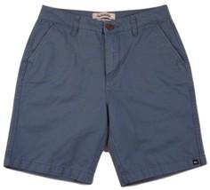 """Quiksilver Straifgt Fit Flat Front Shorts Men's W28 Inseam 8"""" 100% Cotton - $19.74"""