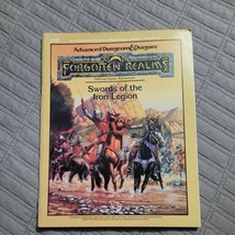 Dungeons and Dragons Module I14 Forgotten Realms Swords of the Iron Legion 1982 - $38.99