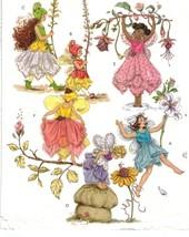 Childs Fairy Sprite Flower Petal Skirt Wings Halloween Costume Sew Pattern 2-5 - $12.99
