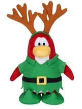 Disney CLUB PENGUIN Series 5 ELF REINDEER Plush Only No Coin Stuffed Toy - $9.89