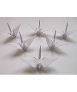 1000 white origami cranes  - $150.00