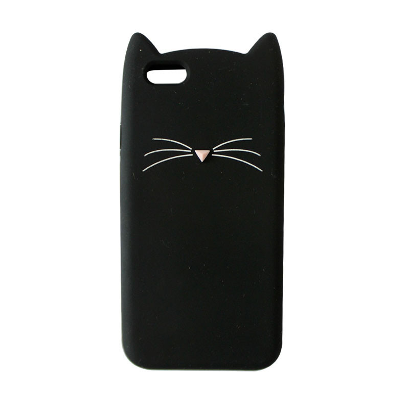"3D Cute Cartoon Cat Case Cover for iPhone 7 7 plus 6 6s 4.7 inch 6 6s Plus 5.5"""