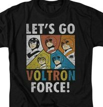 Voltron t-shirt Let's Go Voltron Force retro animation graphic tee DRM115B image 3