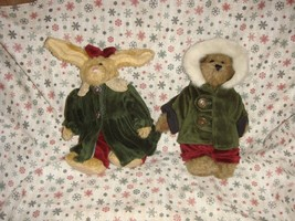 Boyds Bears 1998 Fall Emily & Edmund Plush - $17.99