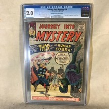 Journey Into Mystery Thor #98 1963 Marvel Comics CGC Graded 2.0 - £73.97 GBP