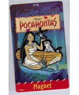 Disney Pocahontas Flit Bird Meeko Raccoon Log Magnet - $14.99