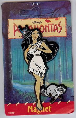 Disney Pocahontas Flit bird Meeko raccoon  Magnet