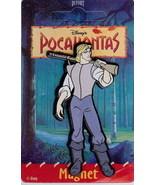 Disney Pocahontas John Smith Magnet mint never used - $7.99