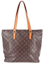 Auth LOUIS VUITTON Monogram canvas Cabas Mezzo Shoulder Tote Bag M51151 ... - $440.00