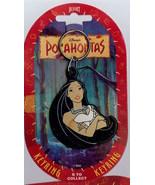 Disney Pocahontas Lon Hair Key Chain mint never used - $9.64