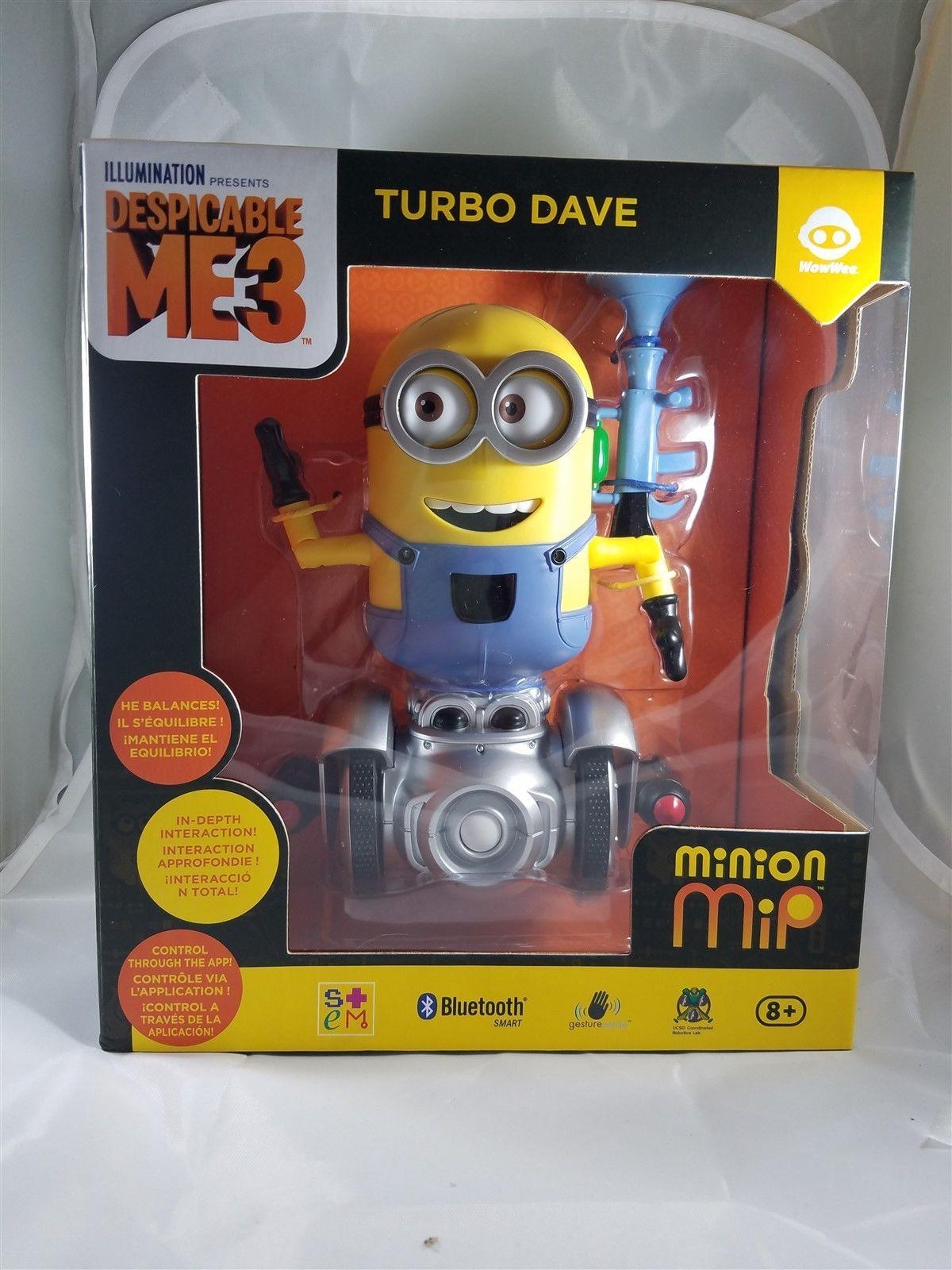 Mip Toy Nip Wowwee Dave Turbo Mini Minion Robot 0kP8nwONX