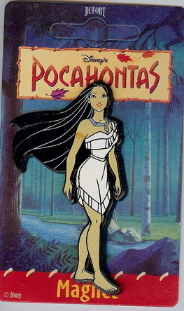 Disney Pocahontas Standing Magnet mint never used