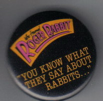Disney Roger Rabbit about Rabbits Button Pin/Pins