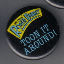 Disney Roger Rabbit Toon It Around  button Pin/pins