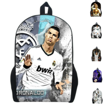 Cristiano Ronaldo Backpacks School Bag Sports Bag For Teenagers - $32.87