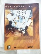 Vtg 1995 One Sweet Day Mariah Carey Boyz II Men Sheet Music Piano Vocal ... - $9.68