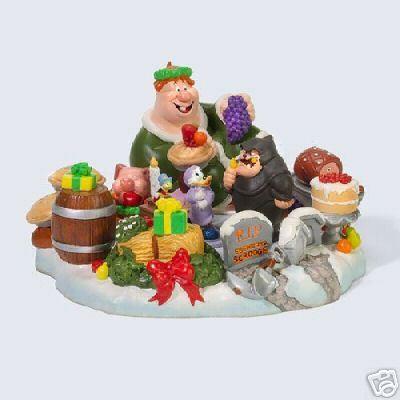 Disney Scrooge Mc Duck rare Figurine
