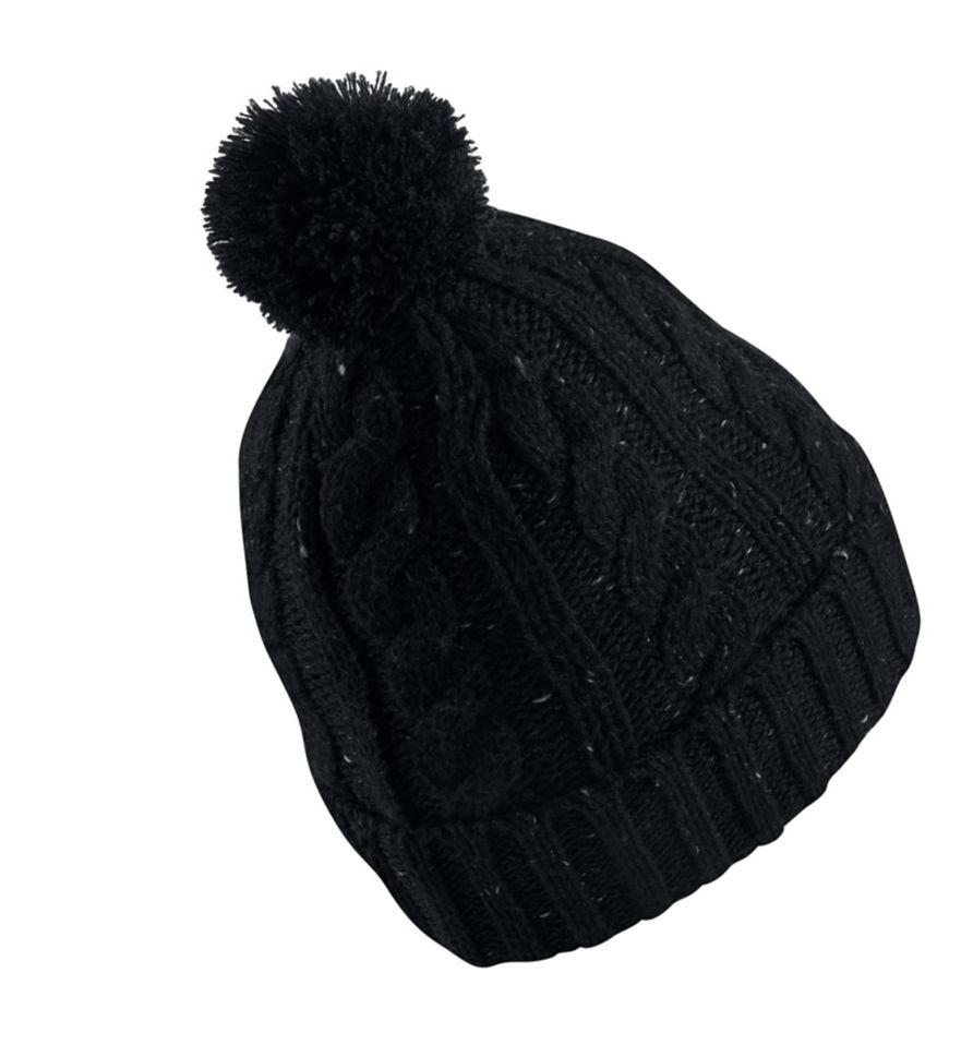 Nike unisex  Sportswear Cable Knit Beanie Hat One Size pom