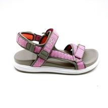 Ryka Womens Lapis Sport Sandals Ankle Strap Hook Loop Cloud Grey 5.5M New - $49.49