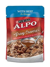 Purina ALPO Brand Dog Food Purina ALPO Gravy Wet Dog Food, Gravy Cravers... - $51.29