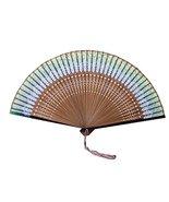 Japanese Style Process Fan Retro Folding Fan Dance Fan Home Decoration G... - $24.19