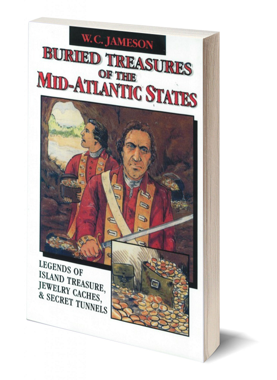 Primary image for Buried Treasures of the Mid-Atlantic States ~ Lost & Buried Treasure