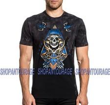 Affliction Black Label Souls Of Faith A20214 Fashion Graphic T-shirt Top For Men - $56.43